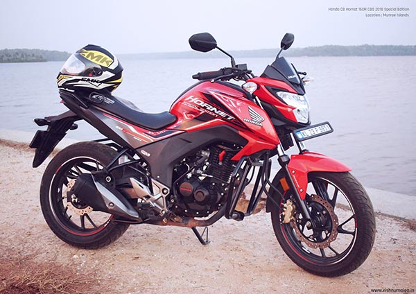 honda cb hornet 160r cbs 2018 special edition sports red