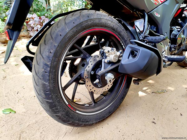 honda cb hornet 160R rear disc brake