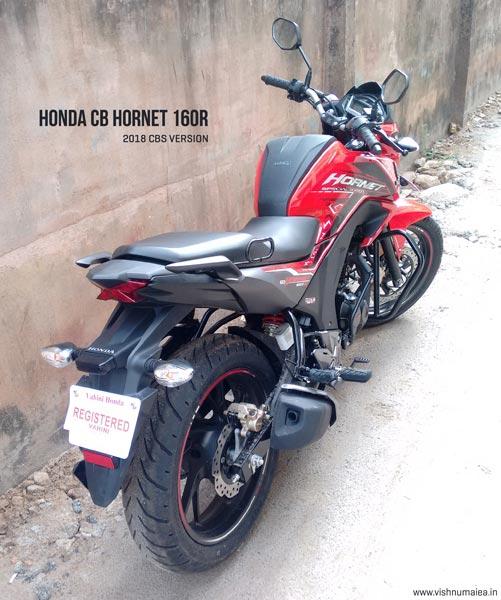 Honda CB Hornet 160R CBS Red