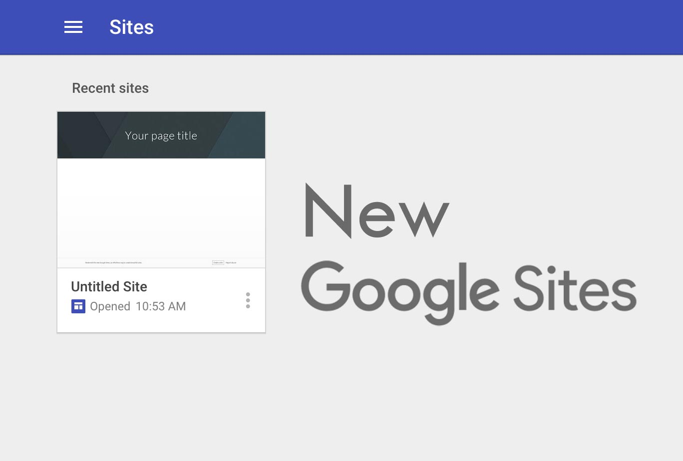 google shutting down classic sites
