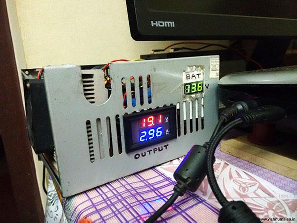 Laptop Battery Backup System