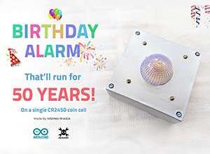 arduino birthday reminder