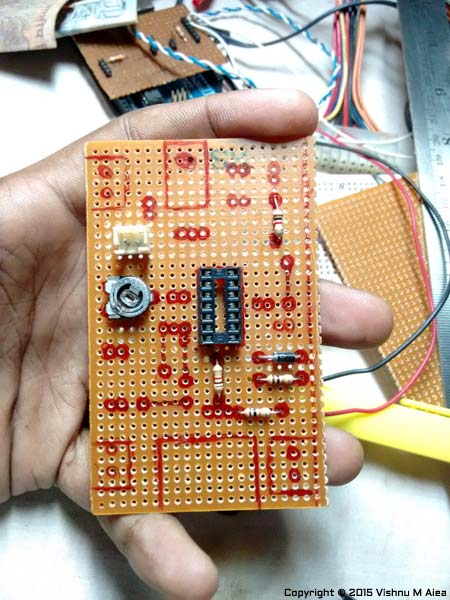 power on delay generator using ne555 pcb