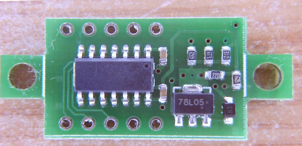 dsn-dvm-368 voltmeter module pcb