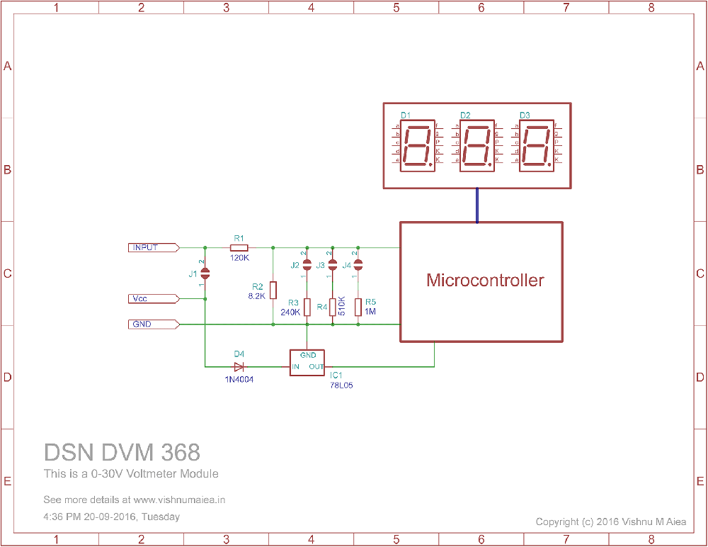 dsn-dvm-368 three digit digital voltmeter module schematic