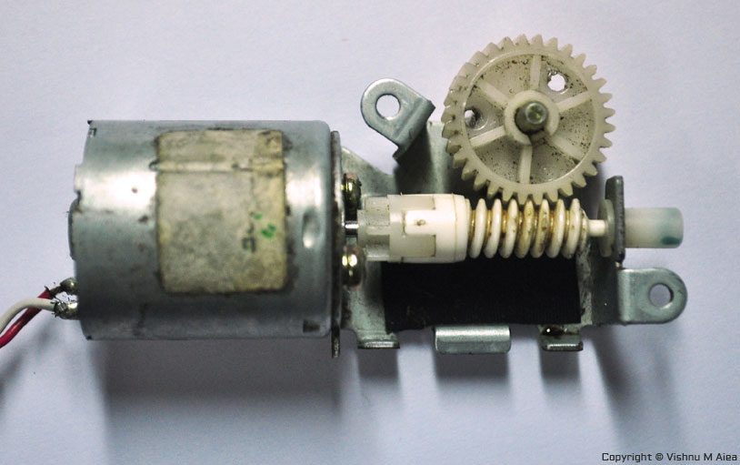 motor from old vcr