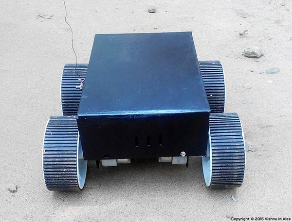 rc ground rover construction