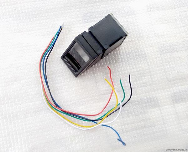R307 Optical Fingerprint Scanner Sensor Module