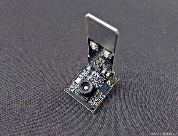 R307 Optical Fingerprint Scanner construction and disassembly