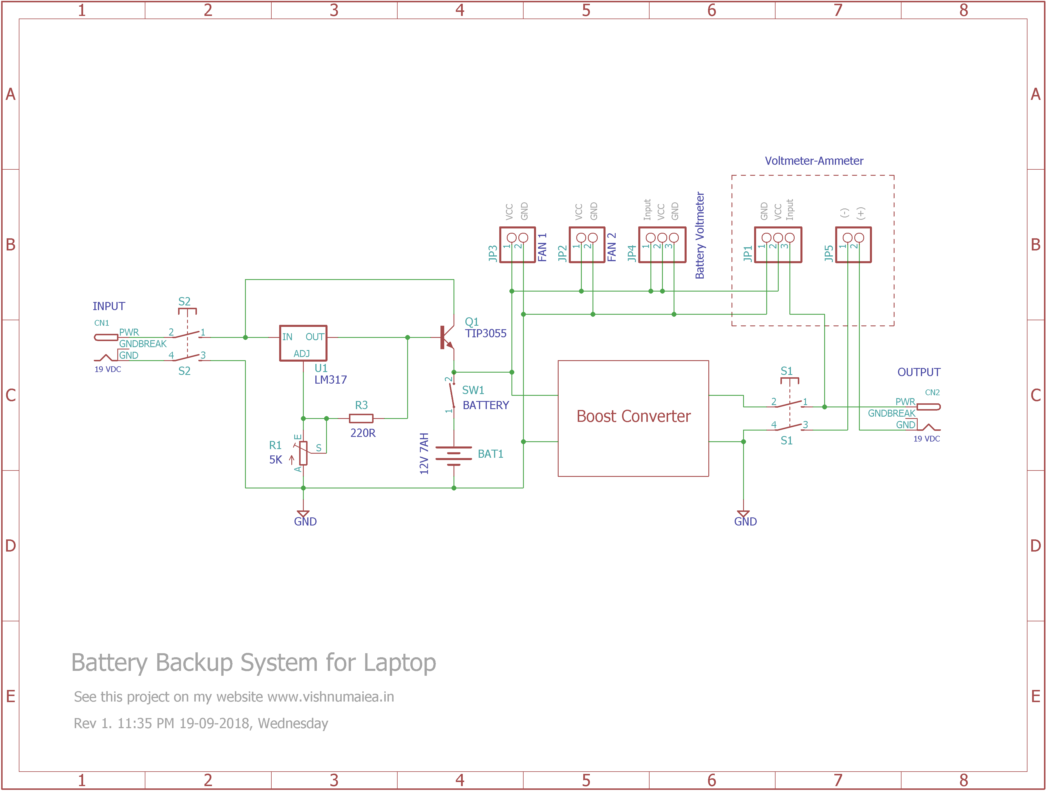 backup system schematic