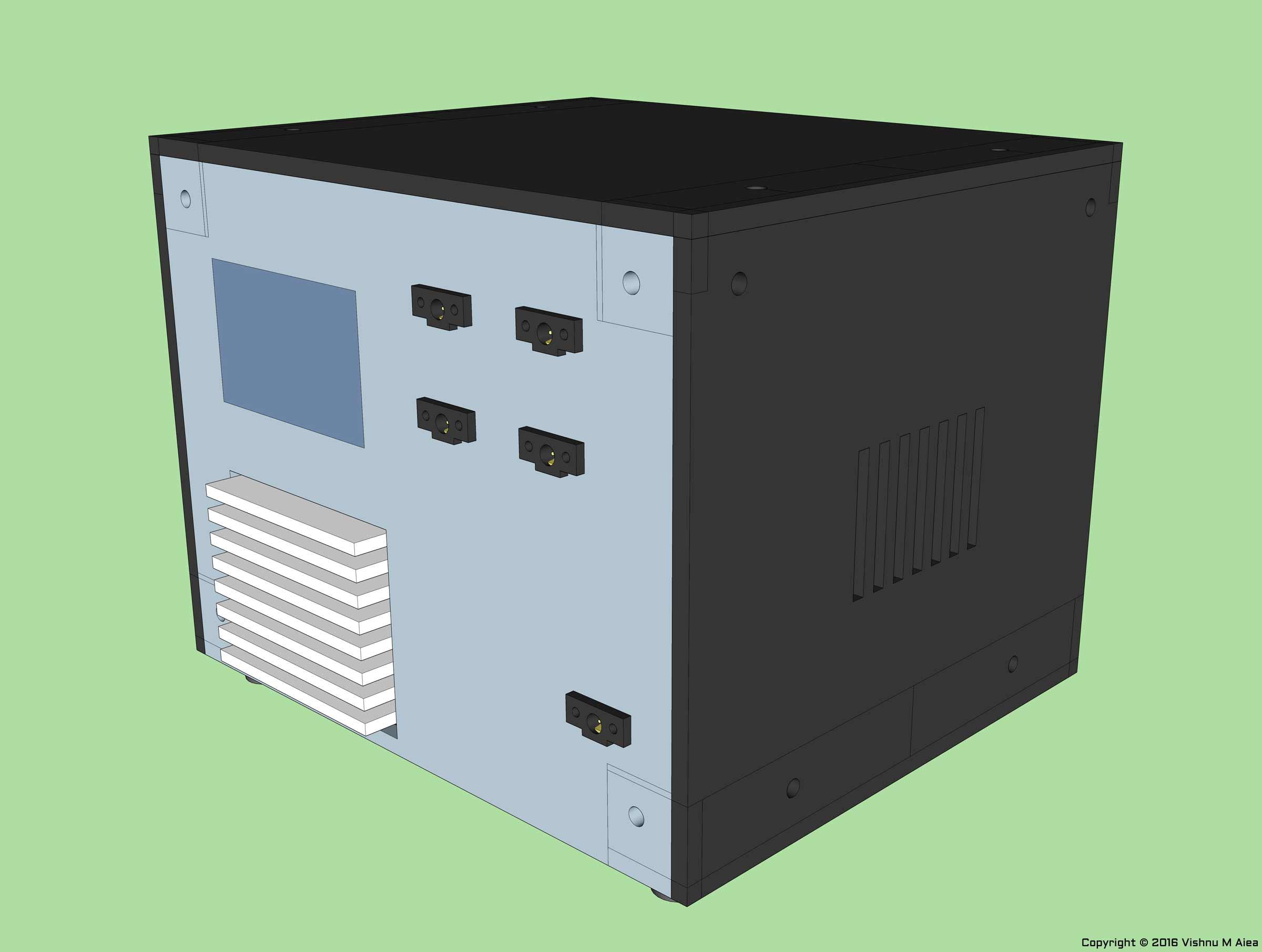 LM317 Benchtop Power Supply - Vishnu M Aiea