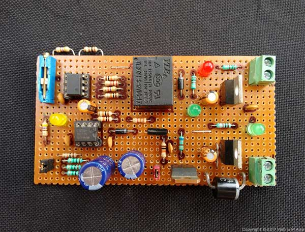 modem backup system board