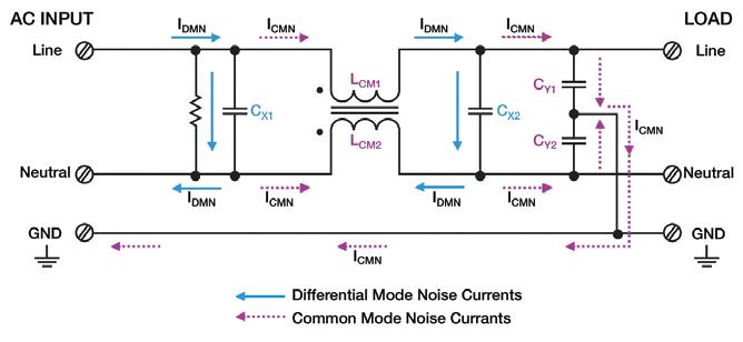 emi filter circuit