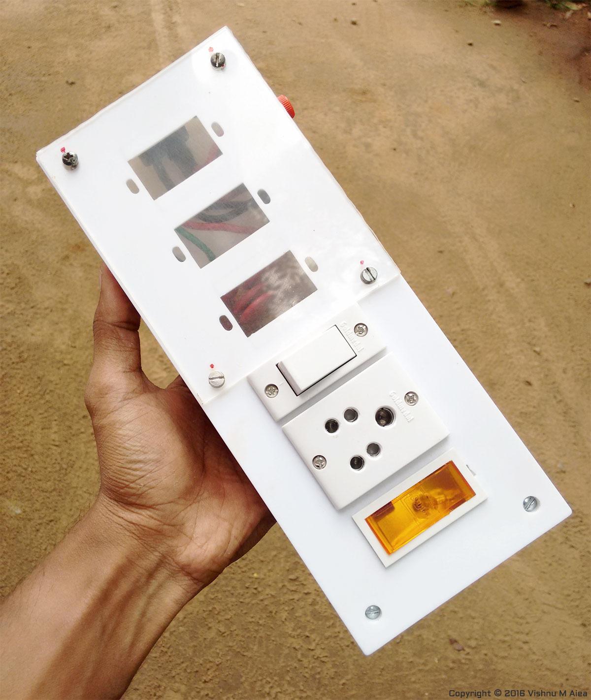 DIY Surge Protector with Line Filter - Vishnu M Aiea