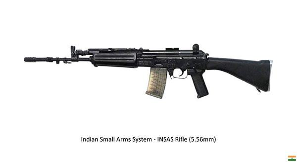 insas standard black rifle