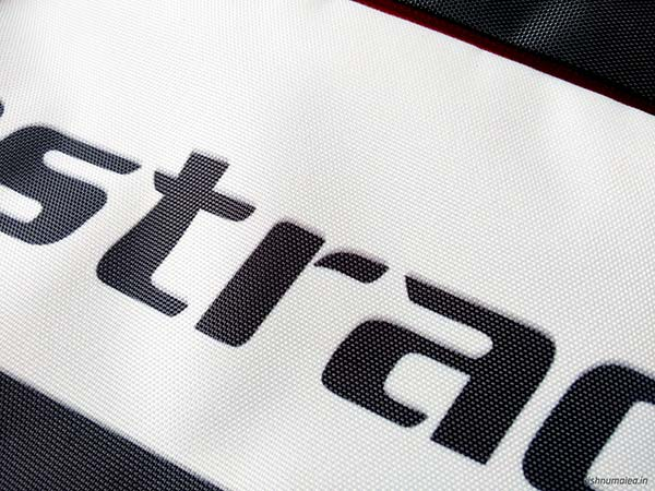 Fastrack Black Offbeat Ergolight backpack review - material.