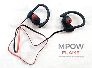 mpow flame ipx7 waterproof bluetooth headphones