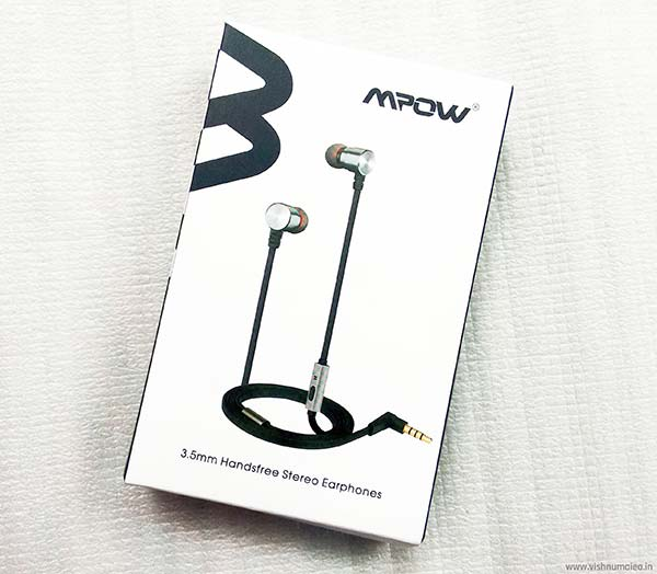 mpow dual driver in-ear headphones