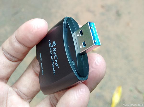 secro usb 3 sd memory card reader