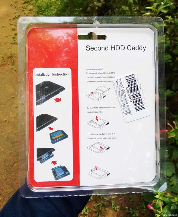 witamy 2.5 inch caddy for ssd hdd