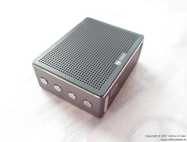 zoook rocker chrome bluetooth speaker