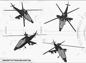 attack helicopter thumb